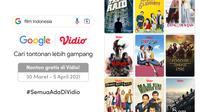 Rayakan Hari Film Nasional Bersama Vidio. (Sumber : dok. vidio.com)