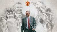 Manchester United - Sir Alex Ferguson (Bola.com/Adreanus Titus)