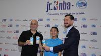 NBA Junior 2018 lebih berbeda karena selain anak-anak, para pelatih basket juga mendapatkan kesempatan untuk mendapatkan pelatihan. (Bola.com/Asprilla Dwi Adha)
