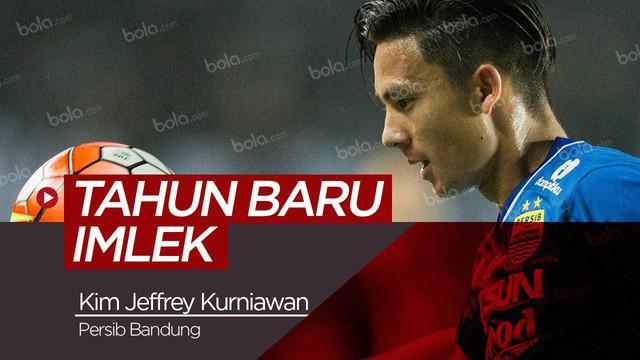 Berita video tentang harapan dari pemain Persib Bandung, Kim Jeffrey Kurniawan di tahun baru imlek.