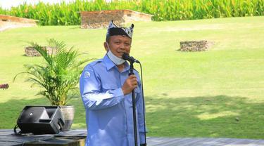 Naksir Arsitektur Pendopo, Menteri Edhy Prabowo Tertarik Bikin Acara di Banyuwangi