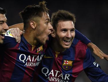 Foto Trivia: Termasuk Trio Suarez, Neymar, dan Messi, 5 Trisula Tertajam dalam Sejarah Sepak Bola Dunia