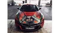 BMW i8 Bertema Joker dijual lebih dari Rp 4 miliar (Carscoops)