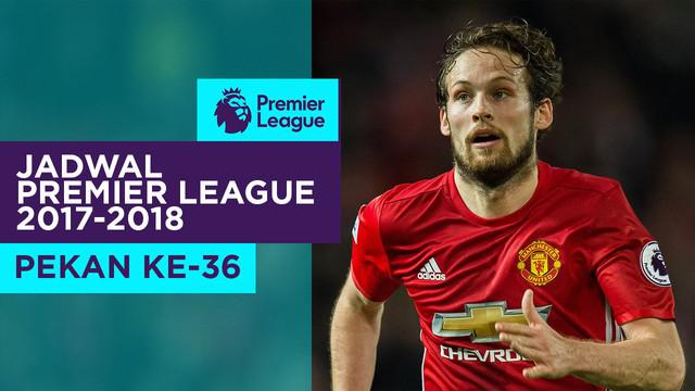 Berita video jadwal Premier League 2017-2018 pekan ke-36. Manchester United ditantang Arsenal di Old Trafford, Manchester.