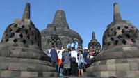 Rapat koordinasi pemerintah pusat dan daerah yang dihadiri para menteri menghasilkan delapan strategi mendongkrak pariwisata di Indonesia (Liputan6.com/ Switzy Sabandar)