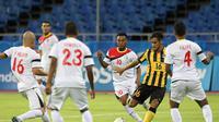 MENANG - Timnas Malaysia U-23 menang tipis 1-0 melawan Timor Leste di laga pembuka Grup B SEA Games. (