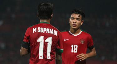 Supriadi dan Brylian Aldama, Timnas Indonesia U-26