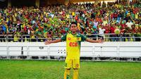 Andik Vermansah saat melawan PKNP, Minggu (11/2/2018). (Bola.com/Dok. Facebook Kedah FA)