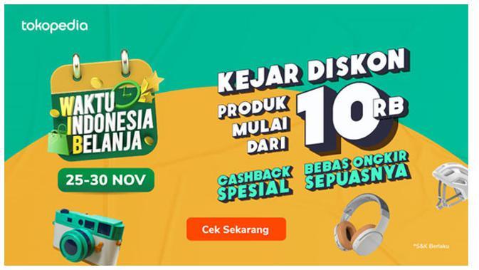 Waktu Indonesia Belanja Tokopedia TV Show Hadirkan Blackpink Ekslusif Malam ini