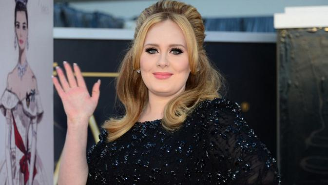 Adele (AFP/FREDERIC J. BROWN)