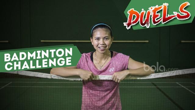 Berita video Duels kali ini menampilkan salah satu atlet bulutangkis andalan Indonesia, Greysia Polii, yang berduel di Badminton Challenge.