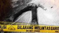 Ilustrasi Pembunuhan (Liputan6.com/Andri Wiranuari)