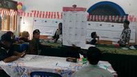 Partisipasi pemilih di TPS 17 Sukoharjo, Kota Malang, turun saat pemungutan suara ulang pada Kamis, 25 April 2019 (Liputan6.com/Zainul Arifin)
