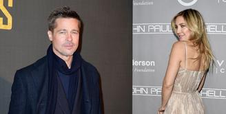 Kate Hudson sempat disebut sebagai wanita yang diincar Brad Pitt setelah bercerai dengan Angelina Jolie. Kabar baru tersiar, saat ini Kate tengah hamil dan anak yang dikandungnya itu dikabarkan anaknya bersama Pitt. (AFP/Bintang.com)