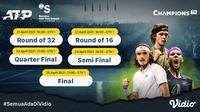 Live Streaming ATP 500 Barcelona Open Pekan Ini di Vidio. (Sumber : dok. vidio.com)
