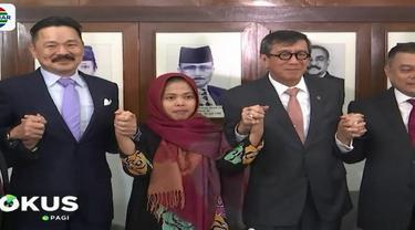 Setelah dinyatakan bebas oleh Pengadilan Tinggi Malaysia, hari itu Siti Aisyah langsung menuju ke KBRI (Kedutaan Besar Republik Indonesia) di Kuala Lumpur dan langsung mengurus pemulangan dirinya ke Indonesia.