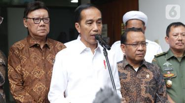 Raut Wajah Jokowi-JK Usai Melihat Kondisi Terakhir Wiranto