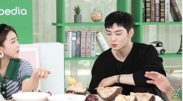 Reaksi Mengejutkan Chan Eun Woo Usai Mencoba Manggis dan Durian
