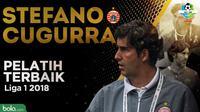 Pelatih terbaik Liga 1 2018 Stefano  Cugurra Teco. (Bola.com/Dody Iryawan/Adreanus Titus)