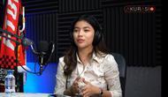 Marketing tim Liga 2 Sulut United, Syalomita Gasya Karen. (Tangkapan layar YouTube Akurasi TV)