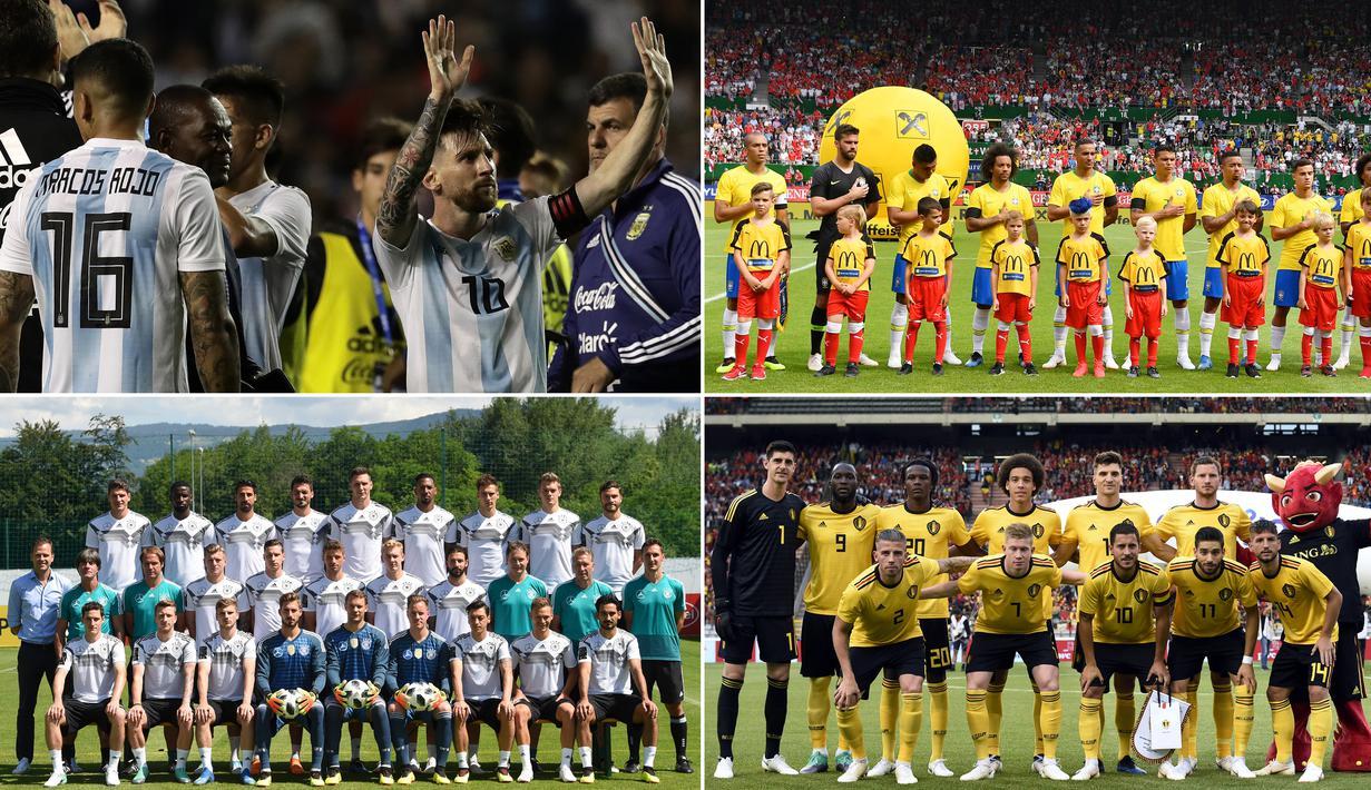 FOTO 8 Negara Yang Menjadi Kandidat Kuat Juara Piala Dunia
