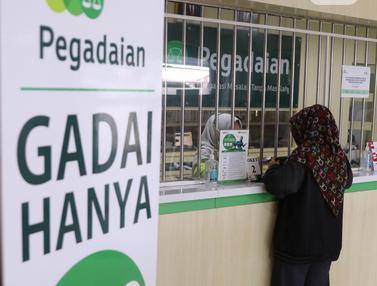 FOTO: Bisnis Gadai Melambung di Tengah Pandemi Covid-19