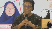 Psikolog UGM Indria L. Gamayanti berbicara tentang kesehatan mental. Foto: tangkapan layar Youtube Humas Jogja, Rabu (11/11/2020).