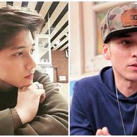 Ahmad Syaiful, putra Mastur, dan Stefan William. (Instagram/ahmad_pule Adrian Putra/Bintang.com)