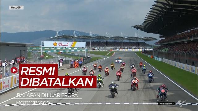 Berita Video Resmi, Tidak Ada MotoGP Malaysia dan Thailand Musim Ini