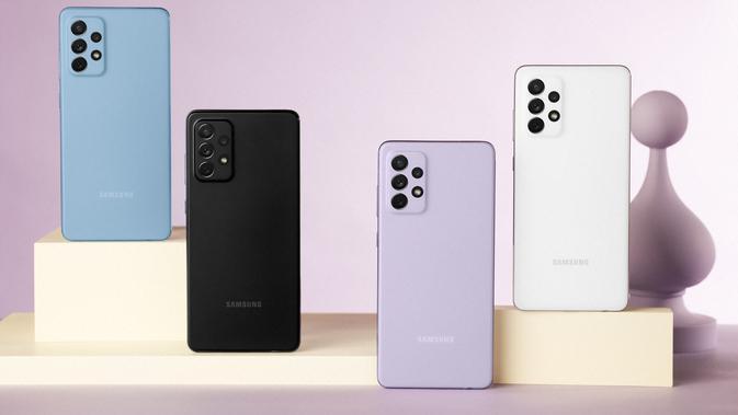 Galaxy A52 dan Galaxy A72 (Foto: Samsung)