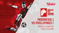 Merlion Cup 2019 - Indonesia Vs Filipina