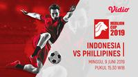 Merlion Cup 2019 - Indonesia Vs Filipina