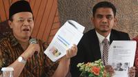 Wakil Ketua MPR Hidayat Nur Wahid membantah bakal melaporkan cucu Presiden Joko Widodo, Jan Ethes Srinarendra ke Badan Pengawas Pemilu (Bawaslu).