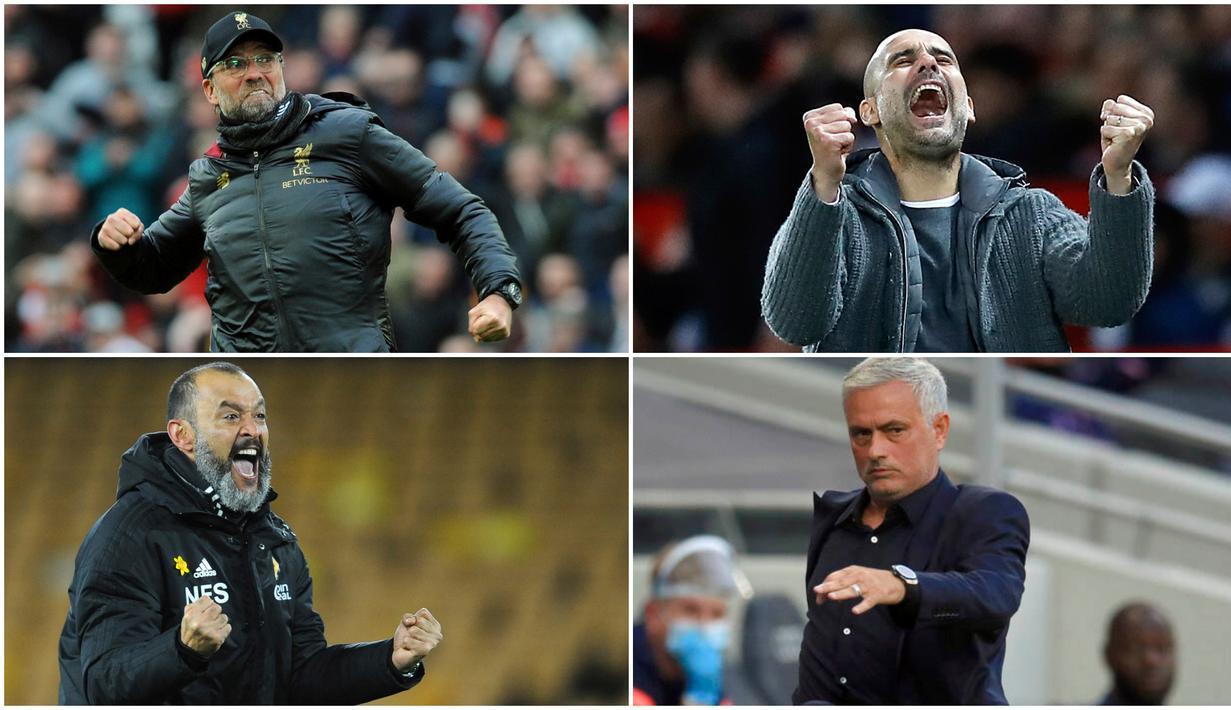 Berikut ini ragam reaksi pelatih di Liga Inggris yang kerap tampil ekspresif dari pinggir lapangan.