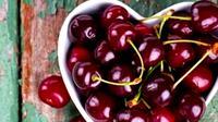 Ilustrasi buah ceri