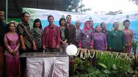 Kamis 17 Maret 2015, kemarin berlangsung peresmian sumur resapan di desa Patemon, Semarang.