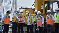 Menteri PUPR Basuki Hadimuljono meresmikan pembangunan ruas tol akses Bandara Internasional Jawa Barat (BIJB) Kertajati. (Dok Kementerian PUPR)