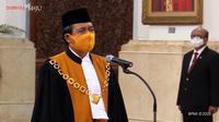 Hakim Agung Muhammad Syarifuddin resmi menjabat Ketua Mahkamah Agung (MA) 2020-2025.