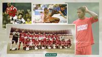Kiprah Pemain Kamerun di PSM: Joseph Lewono dan Abanda Herman. (Bola.com/Dody Iryawan)