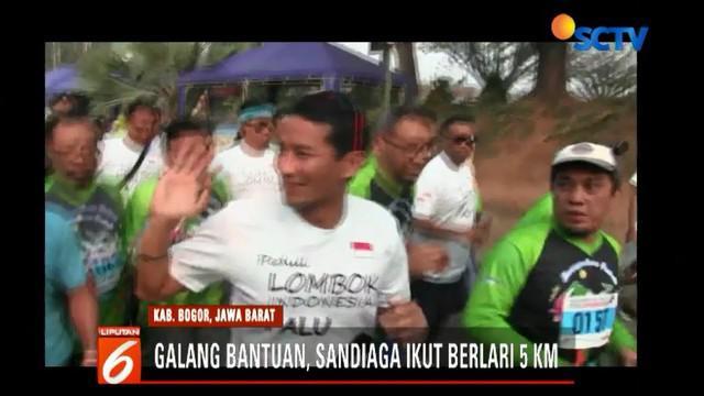 Malam harinya, Sandiaga Uno menyempatkan diri bertemu dan berdialog dengan kaum milenial di kawasan Senopati, Jakarta Selatan.