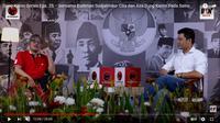 Politikus PDIP Budiman Sudjatmiko berbicara soal Bung Karno. (Istimewa)