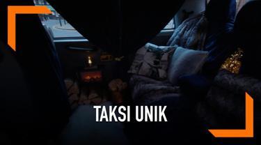 Taksi merupakan salah satu alat transportasi yang banyak digunakan. Di negara ini, taksi dilengkapi tungku perapian agar penumpang nyaman saat musim dingin.