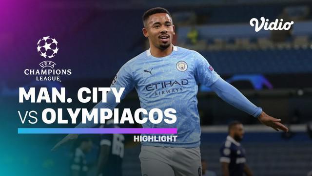 Berita video, Manchester City kalahkan olympiakos di matchday ketiga Liga Champions 2020/2021