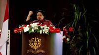 Presiden Kelima RI Megawati Soekarnoputri di Akademi Militer Magelang. (Liputan6.com/Putu Merta Surya Putra)