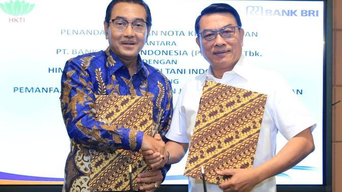 BBRI BRI dan HKTI Bekerja Sama Majukan Sektor Pertanian - Bisnis Liputan6.com