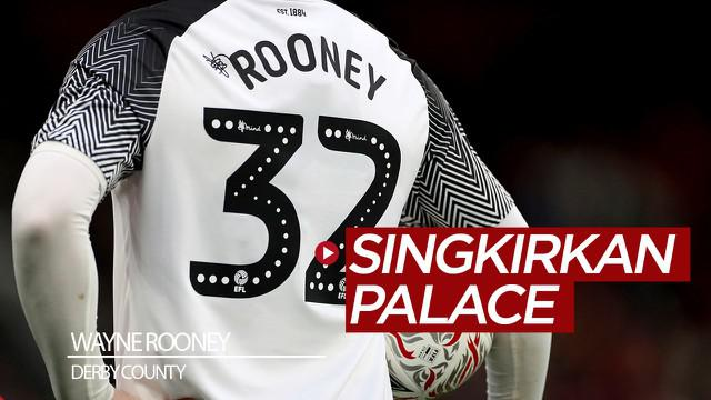 Berita video Wayne Rooney ikut membantu Derby County menyingkirkan tim Premier League, Crystal Palace, dari Piala FA 2019-2020.