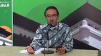 Sekretaris Gugus Tugas Percepatan Penanggulangan Covid-19 Jawa Barat Daud Achmad. (Liputan6.com/Huyogo Simbolon)