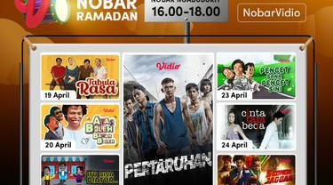 Jadwal Nobar Ramadan di Vidio