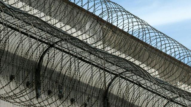 Ilustrasi pengamanan penjara (AFP/Justin Tallis)