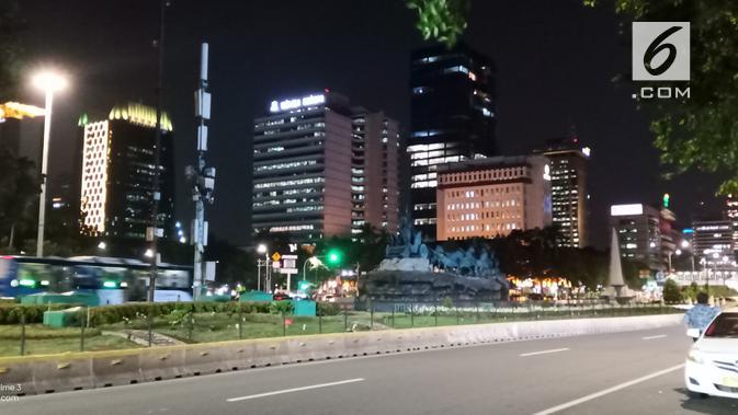 Hasil foto Realme 3 di malam hari (Liputan6.com/ Agustin Setyo W)